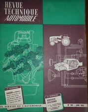 Revue technique SAVIEM ex RENAULT moteur diesel 6 cylindres 572 RTA 194 de 1962