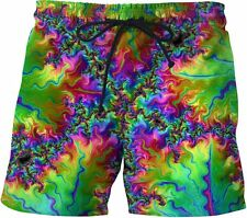 Trip Sauce Swim Shorts beach Surf acid music drugs fashion Polo Trippy xl NWT