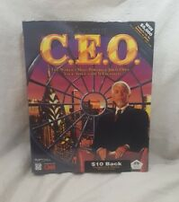 C.E.O. Big Box CD-Rom Game 1995 New Sealed PC I-Motion Interactive