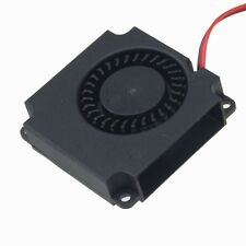 Wholesale 100pcs 120cm cable 40x40x10mm 12V Brushless Blower Cooling Fan 2pin