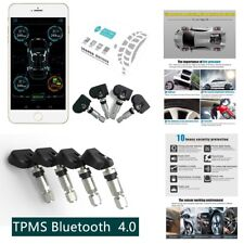 WaterProof TPMS Bluetooth 4.0 Monitoring For Andriod & IOS ,4 Internal  Sensors