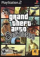 GRAND THEFT AUTO SAN ANDREAS GREATEST HITS PS2 PLAYSTATION 2 DISC ONLY