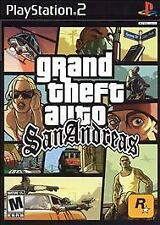 GRAND THEFT AUTO SAN ANDREAS FOR PS2 FREE SHIPPING