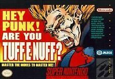 ***TUFF E NUFF SNES SUPER NINTENDO GAME COSMETIC WEAR~~~