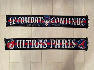 Echarpe PARIS - PSG - ULTRAS PARIS / LE COMBAT CONTINUE