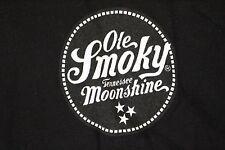 Ole Smoky Tennessee Moonshine T Shirt, Black MEN'S SIZE MEDIUM
