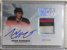 11-12 SP Authentic Future Watch RPA 87/100 Adam Henrique-Devils / Ducks SP RC