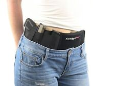 Ultimate Belly Band Holster for Concealed Pistol Carry P238 Gun Belt Black Right
