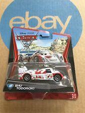 Mattel Disney Pixar Cars 2 SHU TODOROKI #22 Car 1:55 Scale WGP