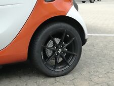 Winter Tyres Smart 453 Alloy Wheels Sparco Trofeo Black Hankook