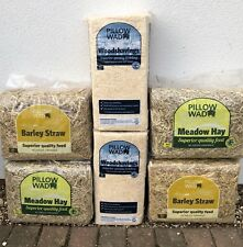 6 British Meadow Hay Straw Barn Shaving Dry Dust Free High Fibre Low 100%Natural