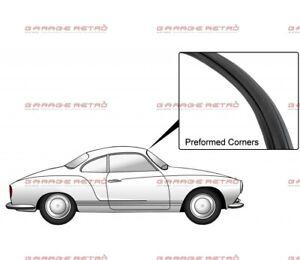 VW Karmann Ghia Gasket Windscreen Front Window Seal With Molding Groove