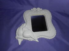 Vintage 1989 Homco Home Interior Doves Love Birds Wall Accent Mirror White #1