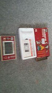 Mario Cement Factory. Nintendo Game & Watch handheld. Boxed. Working.