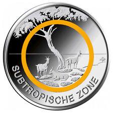5 Euro Deutschland Subtropische Zone * F - Stuttgart * Klimazonen der Erde 2018