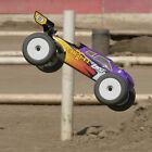 Losi 1/8 8IGHT-T 4 Wheel Drive Truggy Nitro RTR Purple/Yellow LOS04011V2