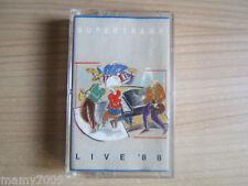 MC= SUPERTRAMP Live 88 1988 west germany A&M RECORDS 396 982-4