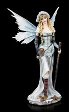 Hadas Figura temporada Invierno - Calista - Elfo Azul Hielo Elemento tapa Hadas