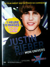 JUSTIN BIEBER - INTERVIEW,CONCERTS,COULISSE - BIOGRAPHIE  DVD COLLECTOR NEUF (A1