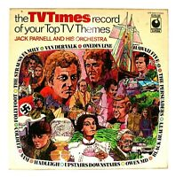 "Jack Parnell   TV Times Record Top TV Themes SPR 90035 12"" Vinyl LP FREE UK P&P"