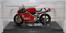 Carl Fogarty Ducati 996 1999 1:24 IXO - Rare