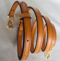 1.2*130cm Luxury Crossbody Strap Replacement Adjustable Real Leather Bag Strap