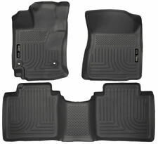 Husky Liners 2015 Toyota Venza Front and Rear All Weather Floor Mats Black 98661