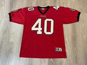 Mike Alstott - Tampa Bay Buccaneers - Starter Jersey Size XL 52 EUC