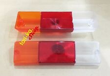 Rear Tail Lights Lens LH RH For 1966-1972 Nissan Datsun J13 1300 520 521 Pickup