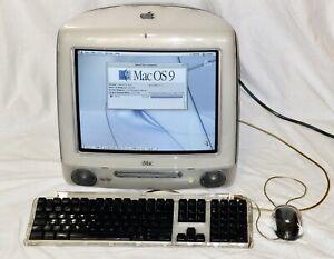 iMac G3 400 DV SE, 640MB RAM, 13GB HD, DVD/CD, keyboard, mouse, lead.
