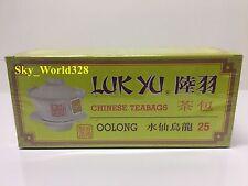 Luk Yu Oolong Tea Bags x 1 Box(25 bags) - Free Shipping
