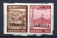 BANGLADESH = Used fragments. Blocks, etc. All shown. Value? You decide.