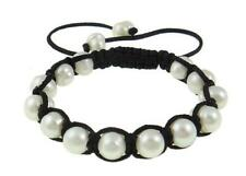 Baroque White Freshwater Pearl Bracelet Inspired by Shambhala Jewels 9-10mm