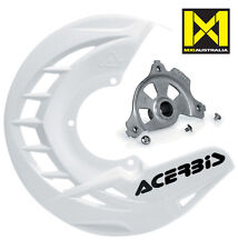 Acerbis X Brake Front Disc Cover & Mount Yamaha YZF YZ250F YZ450F 2014-16 White