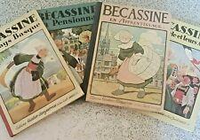 Albums bandes  dessinées de Bécassine datés entre 1926 et 1938