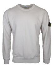 STONE ISLAND beige Rundhals Sweatshirt Neu mit Etikett