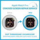 Apple Watch Series 4/5/SE Cracked Glass Screen Repair Service-Fast✅Warranty✅