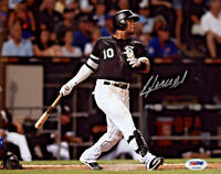 Yoan Moncada Autographed MLB Chicago White Sox 8x10 Signed Photo HR - PSA/DNA