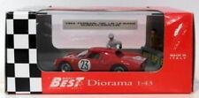 Voitures miniatures de tourisme rouge Best 1:43
