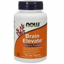 Brain Elevate,120 Veg Capsules - NOW Foods