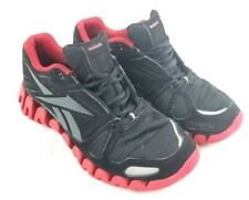 86db697a0d8685 Reebok ZigTech Zig Reflective Training Shoes Mens 6   Womens 7 Black Red  J82794