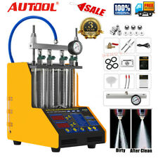 AUTOOL CT150 4-Cylinder Car Ultrasonic Fuel Injector Tester Cleaner Diagnostic
