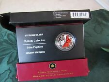 #23932 24515  2005 BUTTERFLY COLLECTION- 50 CENT COIN W/COA