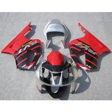 Red Silver Fairing Bodywork Kit For Honda VTR1000R RC51 SP1 SP2 00-06 01 02 3A