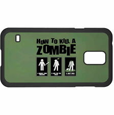 How 2 Kill A Zombie Hard Case Cover For Samsung New