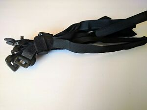 "12pc Black Nylon Hook&Loop Fasteners/Straps/Cable Ties,Adjustable,8""/16""/20"",NEW"
