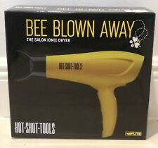 Helen of Troy Hot Shot Tools Bee Blown Away The Salon Ionic Hair Dryer NEW n Box