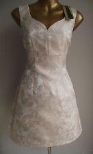 BN Coast Blush Rose Floral Jacquard Skater robe de bal +2 ML Monsoon parfum 18