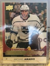 2017-18 Upper Deck Young Guns UD Exclusive #491 Michael Amadio Kings RC #81/100