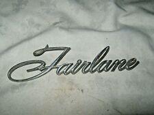 A Vintage 1969-72 Ford Fairlane ZB,ZC Fairlane Script Guard Badge